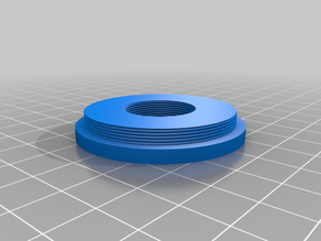 Tmount (M42) to DIN microscope objective adapter