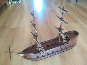 Modular Warship XVII - DnD