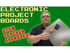Magnetic Electronic Project Boards