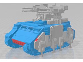 Stalker conversion for 40k Rhino - WH40k