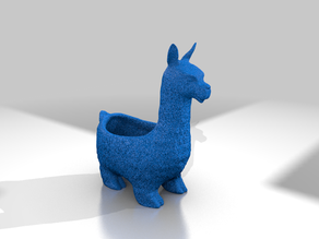 Llama Planter (with larger interior)