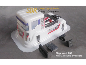 SDRacing Euro Truck Body mounts for Mini-z