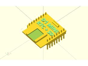 D1 MINI RTC+MicroSD  OpenSCAD Model