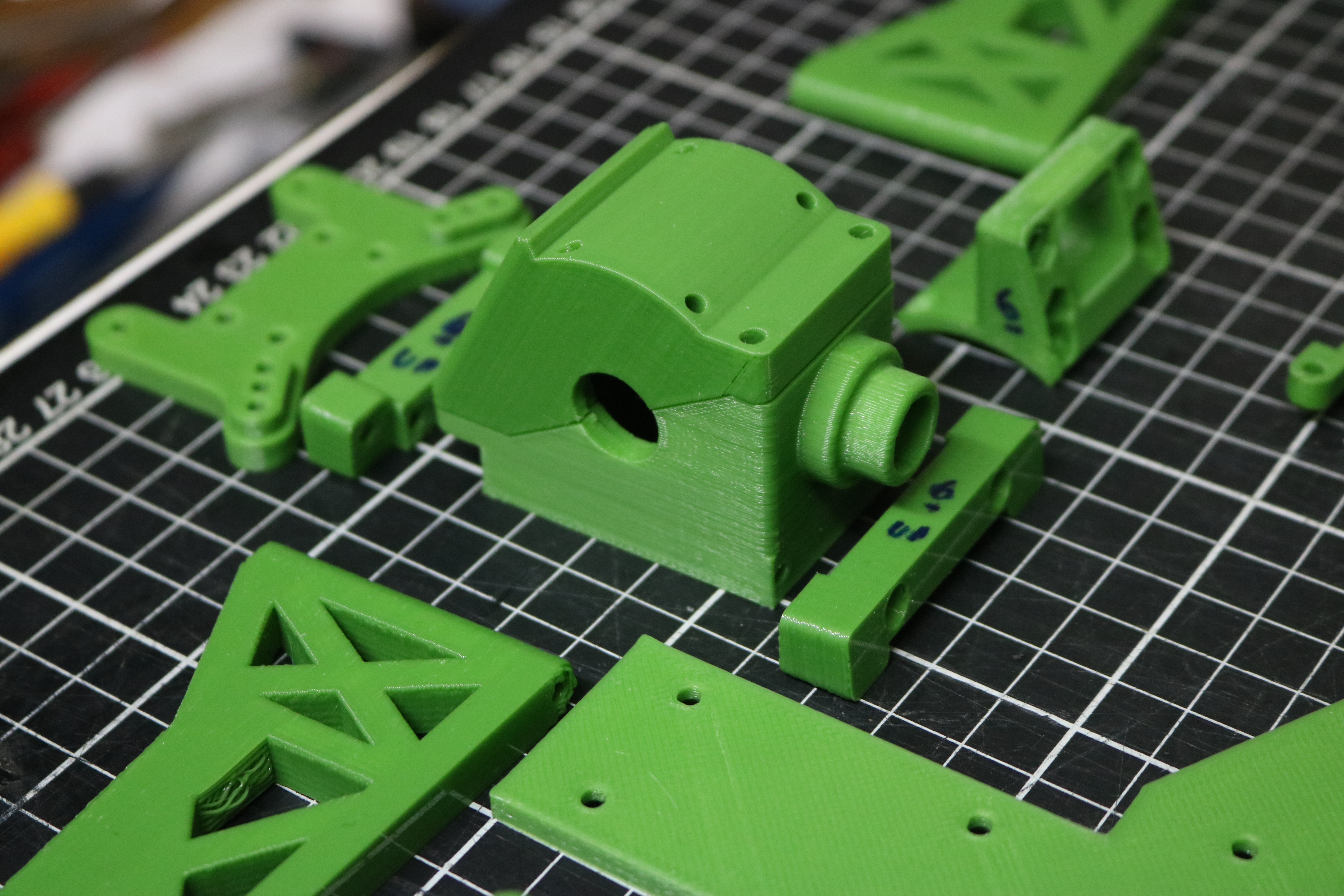 Some printed parts