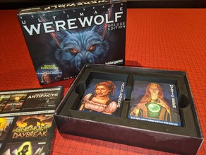 Ultimate Werewolf: Deluxe Edition Board Game Box Insert Organizer