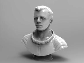Gagarin Bust