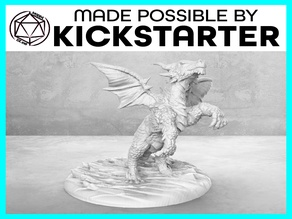 Dragonling - Action Pose - Tabletop Miniature