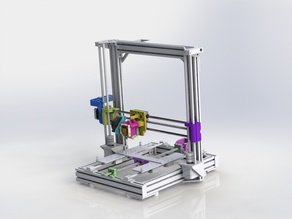 Anet A8 X Axis Lead Screw Drive System