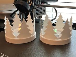 Christmas Tree Tealight Surround