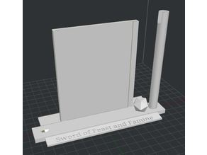 Sword Stand for Quarter Scale Sword of Feast and Famine