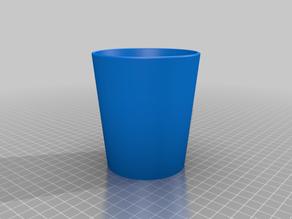 Vaso cónico (conical cup)