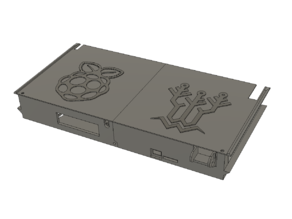 Ender 3 Pro rear electronics case for skr e3 mini and raspberry