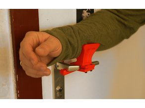 Doorhandle-Elbow Adapter