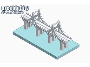 GreebleCity: Suspensful Bridge