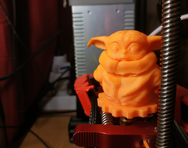 A Proper Baby Yoda Knob - an Ender 3 knob