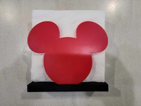 Adjustable Mickey Napkin Holder