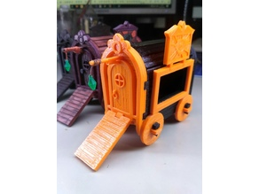 Gipsy Wagon 28 mm (Darkest Dungeon tribute) for 3D printing