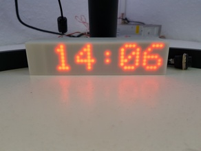 LED Display ( MAX 7219 ) with MQTT