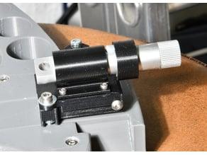 Adjustable laser pointer mount for Sliding Legolini