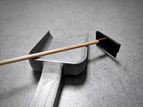 Poop Shovel & Spatula Cage Set