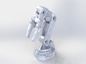 Orky Mekanik Claws - terrain set
