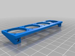 SKR 1.3 Fan Rack (4x25mm)