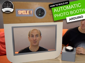 DIY Wedding Photo Booth - Low cost | Arduino | 3D Printable Parts | Personalise | Low Cost | Budget