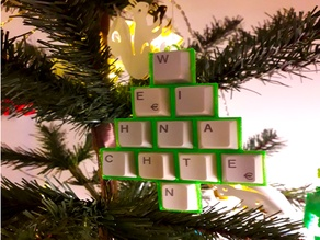 Keyboard Christmas Tree - Tastaturweihnachtsbaum