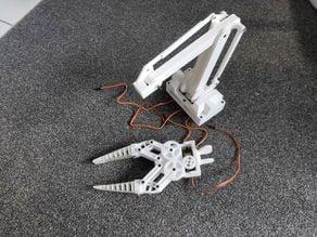 Robot arm 3DOF