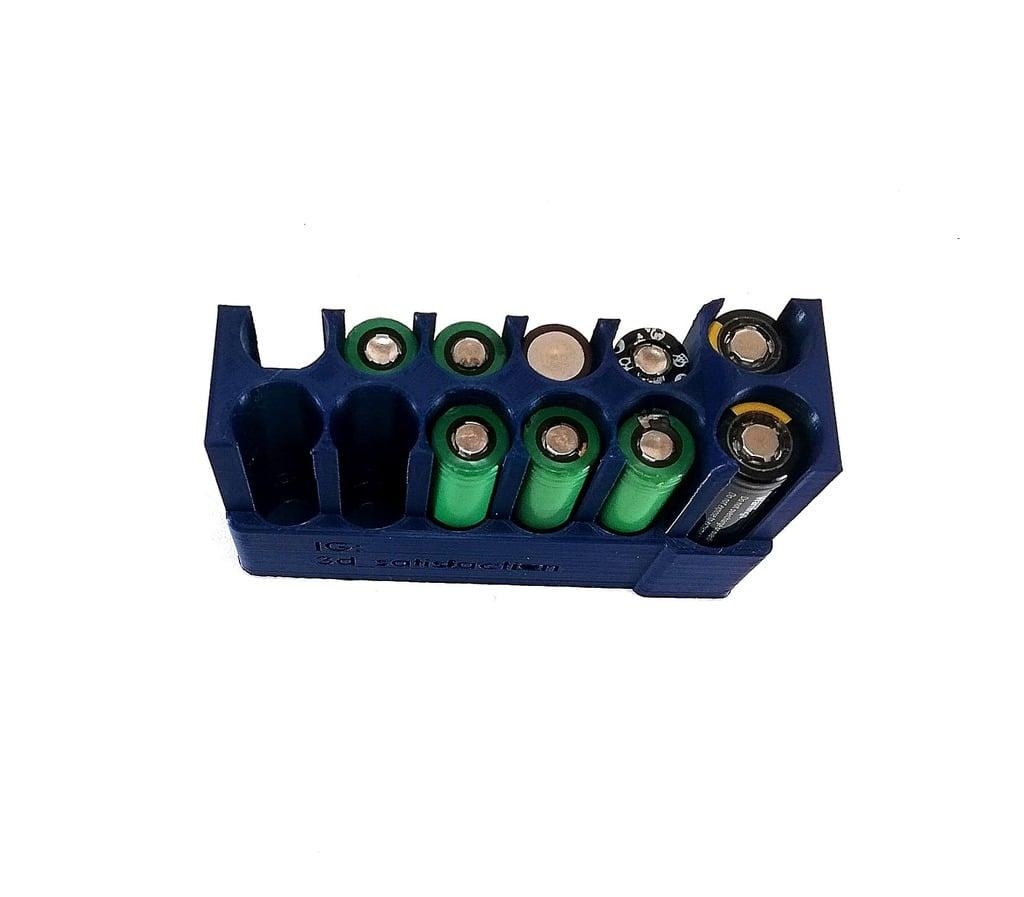 Battery case 8*18650 2*20700