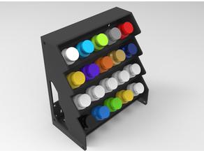 Modular acrylic paint holder