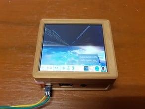Raspberry Pi Display Case with Pen Slot