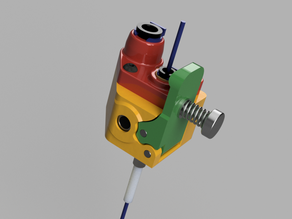 Remote & Direct Drive Extruder with dual drive gear-set V2