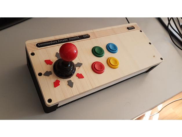 Joystick Arcade for Commodore & PC (USB)