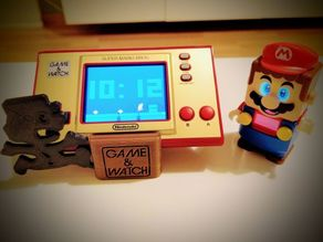 GAME AND WATCH Mario DISPLAY