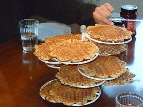 Waffle Stand Etagere