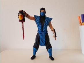Sub-Zero subzero Mortal Kombat Fatality Remix (read description)