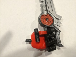 Posable CW Hands with weapon port