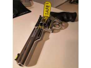 Chamber safety flag for .357 revolver
