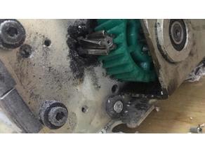 Pro KGB 3510c Paper shredder gear