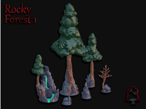 OpenFoliage Rocky Forest Inserts