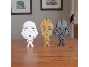 Star Wars Earphones Holders