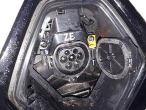 Renault Zoe Type 2 Inlet Fix
