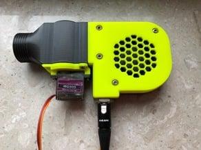 Lüftergehäuse Kompakt mit Damper