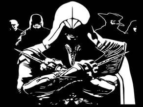 AC Ezio stencil 3