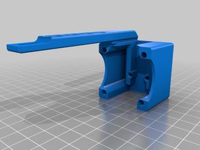 Carlz CR-10S Filament guide + Filament sensor Stop/Holder