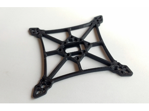 Q Frame - toothpick frame with 20x20 stack support + crossfire