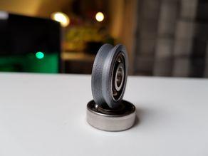 V-Roller for 22x8x7 (608) bearing