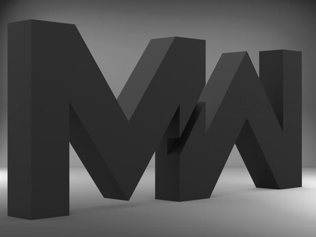 Thing Files For Call Of Duty Modern Warfare 2019 Logo By Hukuma