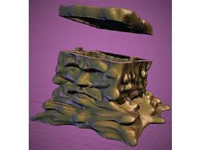 Gelatinous Cube - Removable Lid